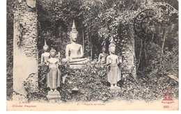 Cpa LAOS  Pagode En Ruines  Cliché Raquez 233       -T- - Laos