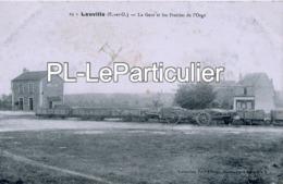 CPA   Leuville Sur Orge   La Gare Et Les Prairies De L'Orge - Frankreich