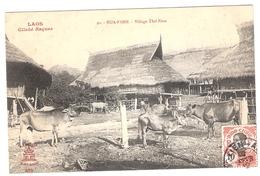 Cpa LAOS   Hua-pahn Village Thai Neua  Cliché Raquez 91     -T- - Laos