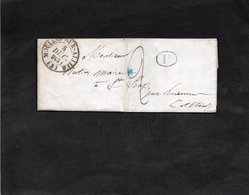 Lettre 1831 - Cachet  MOULINS SUR  ALLIER - Lettre Entête Bureau Du MEMORIAL De L'Allier - Marcophilie (Lettres)