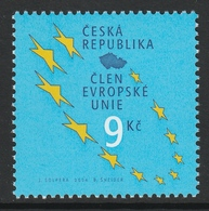CZECH REPUBLIC 2004 Accession To The European Union: Single Stamp UM/MNH - República Checa