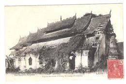 Cpa LAOS  Pagode En Ruines A Xieng Khouang  Tranninh      -T- - Laos