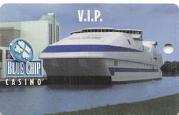 Blue Chip Casino - Michigan City, IN - BLANK Slot Card   ...[RSC]... - Casino Cards