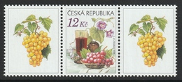CZECH REPUBLIC 2006 Still Life: Single Stamp + Labels UM/MNH - República Checa