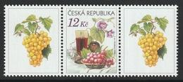 CZECH REPUBLIC 2006 Still Life: Single Stamp + Labels UM/MNH - Unused Stamps