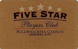 Bullwhackers Casino - Central City, CO - BLANK Slot Card   ...[RSC]... - Casino Cards