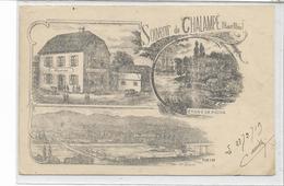 68 CHALAMPE . EICHWALD . Souvenir En 3 Lithographies , Dont La Mairie , édit : A Dreyfus Mulhouse , écrite  , état Extra - Chalampé