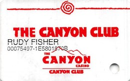Canyon Casino - Black Hawk, CO - 2nd Issue Slot Card   ...[RSC]... - Casino Cards