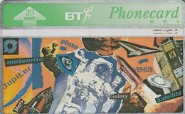 REINO UNIDO. ESPACIO. Youth Series - Space. 07/1993. 347E. BTC-088. (608) - Espacio