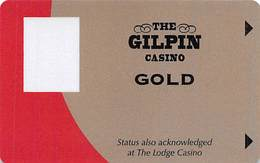 Gilpin Casino - Black Hawk, CO - BLANK 12th Issue Slot Card  ...[RSC]... - Casino Cards