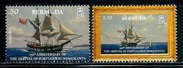 "Bermuda       ""Portuguese Immigrants""      Set     (new Issue November-1-2019)    MNH - Bermuda"