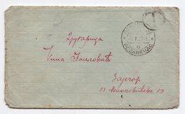09.10.1945 WWII YUGOSLAVIA, SERBIA, POZAREVAC TO ZAJECAR,POSTAGE DUE, LETTER INSIDE - 1945-1992 Socialist Federal Republic Of Yugoslavia