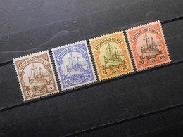 D.R.Mi 7*/10*/11**/12*  Deutsche Kolonien (Deutsch-Neuguinea)  1900/1908 - Mi 10,50 € - Colonia: Nueva Guinea
