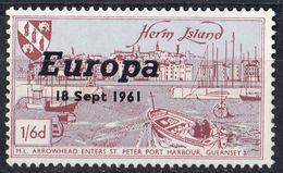 HERM ISLAND - 1961 - Un Francobollo Nuovo MNH, Come Da Immagine. - Local Issues