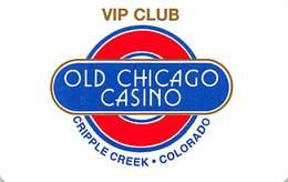 Old Chicago Casino Cripple Creek, CO - BLANK 1st Issue VIP Club Slot Card   ...[RSC]... - Casino Cards