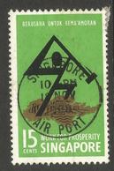 SINGAPORE. 1968. PROSPERITY. 15c USED - Singapore (1959-...)