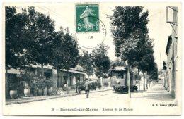 94380 BONNEUIL - Avenue De La Mairie - Tramway Beau Plan, Restaurant Cuisine Bourgeoise - Bonneuil Sur Marne