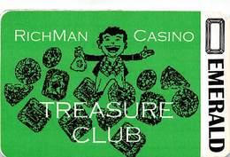 Richman Casino - Black Hawk, CO - BLANK 1st Issue Slot Card  ...[RSC]... - Casino Cards