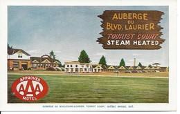 Auberge Du BLVD Laurier, Tourist Court, Québec, Lorenzo Audet, Non Circulée (D86) - Québec - Sainte-Foy-Sillery