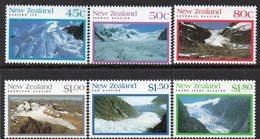NEW ZEALAND, 1992 GLACIERS 6 MNH - Nouvelle-Zélande