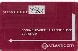 Atlantic City Casino - Lima, Peru - Slot Card - Reverse Text 75mm Wide .....[FSC]..... - Casino Cards