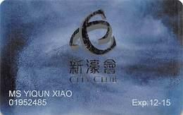 City Of Dreams & Altira Casinos - Melco Gaming Macau China - Slot Card  ....[FSC]..... - Casino Cards