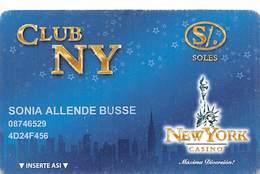 New York Casino - Magdalena Peru - Slot Card  ....[FSC]..... - Casino Cards