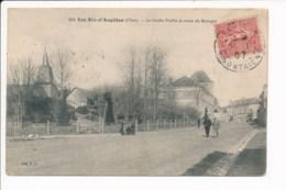 Carte  Les Aix D'angillon - Les Aix-d'Angillon