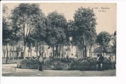 Carte De Nevers  Le Parc ( Cachet Militaire Train Sanitaire Semi Permanent Midi N° 17 Service De Santé ) - Nevers