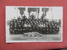 RPPC Harmonie Municipal Rumelange  Drapeau 1930  Ref 3754 - Postcards