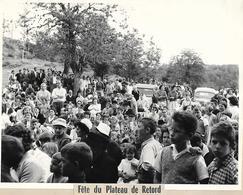 Photo - Fête Du Plateau De RETORD (01) - Massif Du Jura - Années 1960 / 1970 -- Pas Carte Postale - - Frankreich