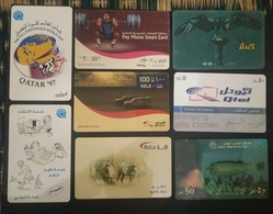 Qatar Telephone Card Old Rare Lot - Qatar