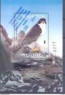 "2016. Tajikistan, Bird S/s With OP ""Asian Stamp Exhibition China'2016"", Mint/** - Tadschikistan"
