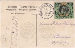 Bayern: 1911, Postkarte Von Zweibrücken - Bayern