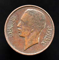 Iraq 1 Fils 1938, Km102, Kings, Asia Coin. - Iraq