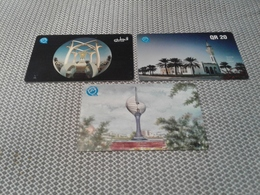 Qatar - 3 Magnetic Phonecard - Qatar