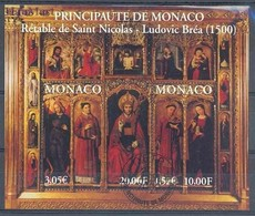 Monaco 2000 Mi Bl 80 Cancelled ( SZE1 MNCbl80 ) - Christentum