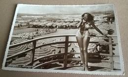 VIAREGGIO SPIAGGIA   PIN UP   VIAGGIATA 1941  (186) - Pin-Ups
