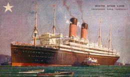 WHITE STAR LINE RMS ADRIATIC - Paquebote
