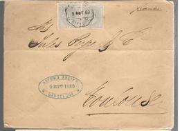25498 - De BARCELONE Pour La France - 1875-1882 Königreich: Alphonse XII.