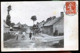 SEBONCOURT RUE CHANTRAINE - Autres Communes