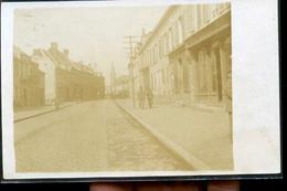BOHAIN RUE DU CHATEAU CP PHOTO 1900 - Francia