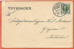 DK119, * POSTAL STATIONARY * SENT 1907 - Interi Postali