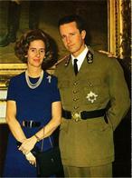 CPM HH. MM. Koning Boudewijn En Koningin Fabiola BELGIAN ROYALTY (738160) - Familles Royales