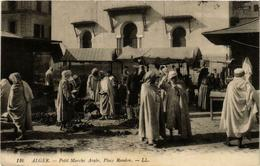 CPA Alger Petit Marche Arabe, Place Randon Alger (735510) - Alger