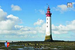 Set 6 Cartes Postales, Phares, Lighthouses Of Europe, France, Ile De Ré, Le Phare De Chauveau - Leuchttürme