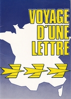 Voyage D'une Lettre (12 Diapositives + Livret D'accompagnement - Philathélie) - Dias