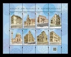Poland 2019 Mih. 5117/24 Polish Architects In Azerbaijan (joint Issue Poland-Azerbaijan) MNH ** - Unused Stamps