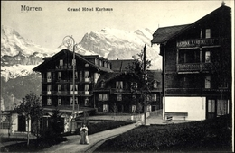 Cp Mürren Kanton Bern Schweiz, Grand Hôtel Kurhaus - BE Berne