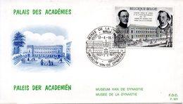 BELGIQUE. N°1576 De 1971 Sur Enveloppe 1er Jour. Académie Royale De Langue Française. - Other